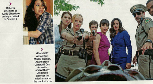 Scream 4 EW Scans - horror-movies Photo