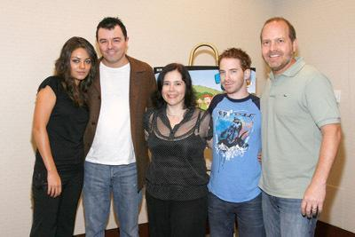Seth, Mila, Alex, Seth and Mike