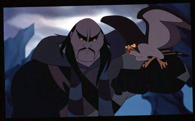 Disney Villains hình nền with anime entitled Shan Yu