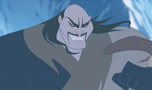 Disney Villains wallpaper probably containing anime called Shan Yu