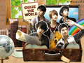 Share The World - dbsk wallpaper