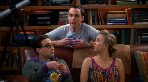 Sheldon, Leonard and Penny