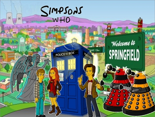 doctor who wallpaper titled Simpsons who