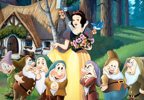 Snow White and the Seven Dwarfs achtergrond titled Snow White and the Seven Dwarfs