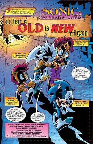 Sonic Universe: What's Old is New
