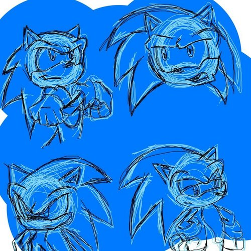 Sonic face practice
