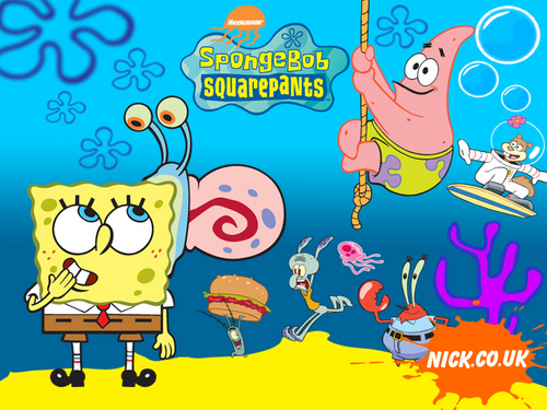 bob esponja calça quadrada wallpaper with animê titled Spongebob wallpaper