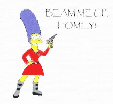 stella, star Trek Marge