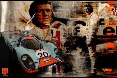 Steve McQueen wallpaper probably with animê titled Steve McQueen