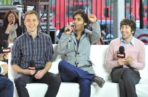 TBBT Cast at CTV