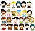 TDI Crew In South Park. - total-drama-island fan art