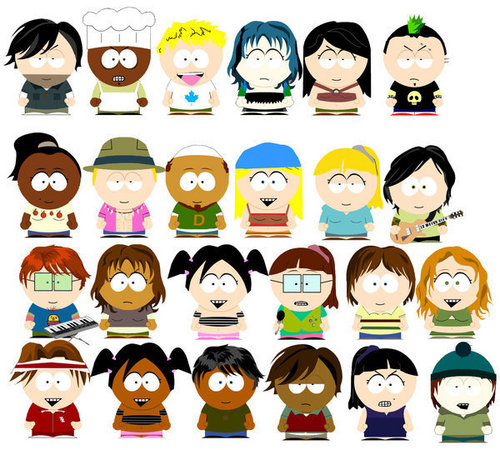TDI Crew In South Park.