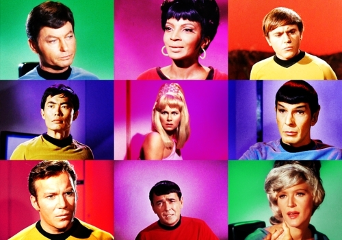 bintang Trek The Original Series kertas dinding with a portrait called TOS is colour, TOS is Cinta