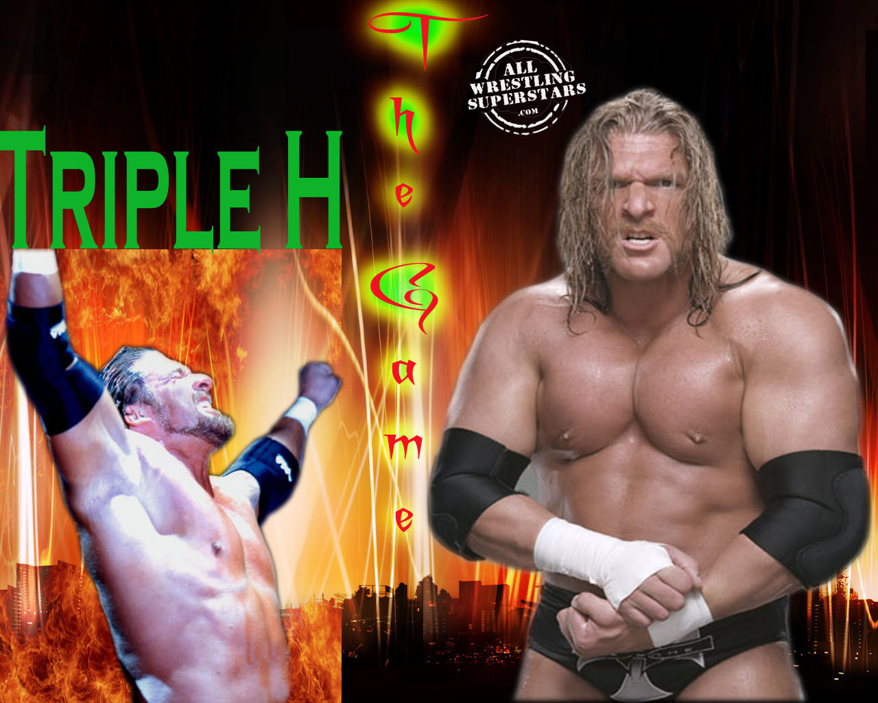 Triple H Wallpaper Possibly Containing A Pezzo Hunk Entitled TRIPLE
