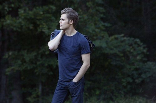 Stefan Salvatore 壁纸 probably containing a business suit, a pantleg, and a well dressed person called TVD_2x08_Rose_Episode stills