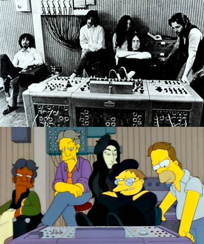 The Beatles and The Simpsons