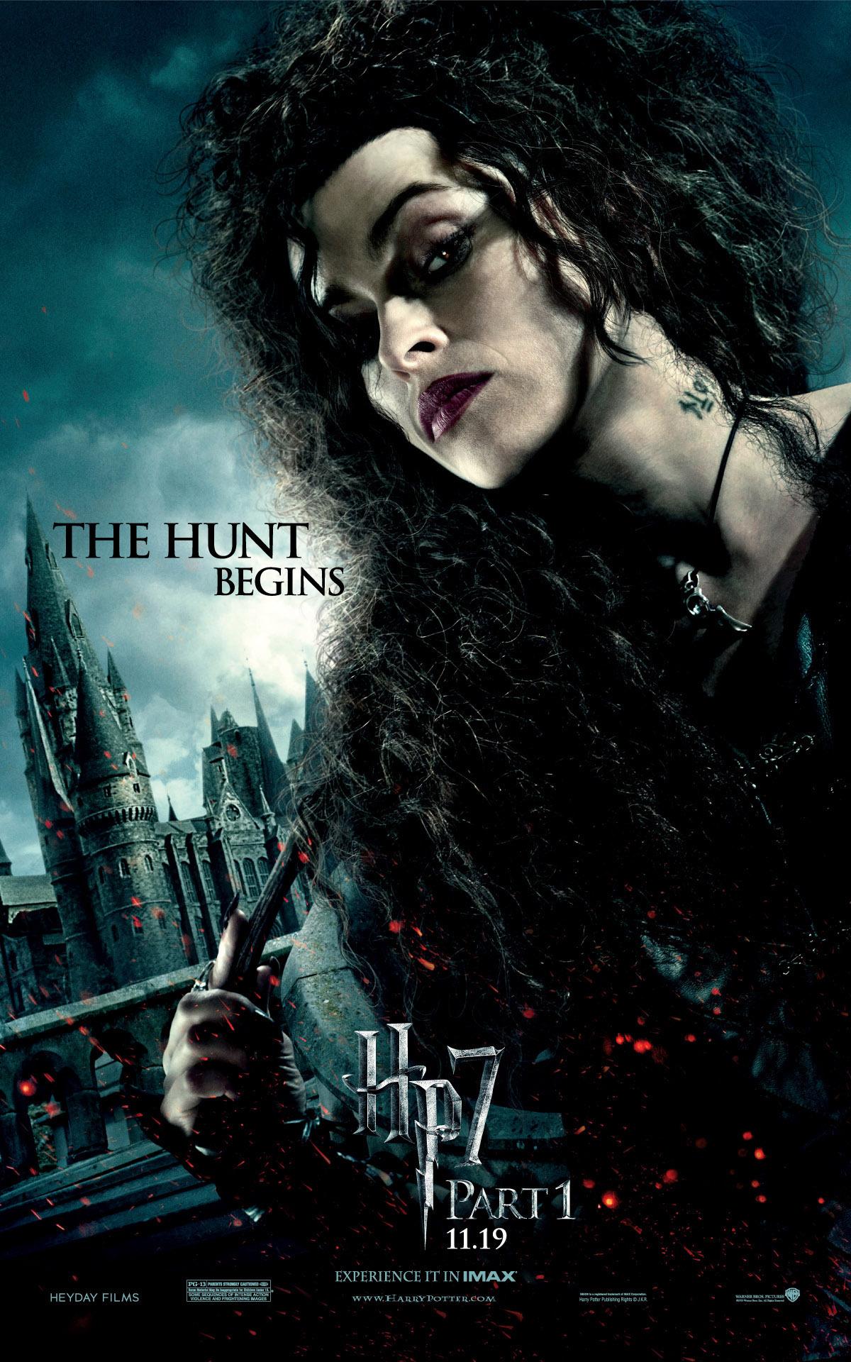 The Hunt Begins (Bellatrix Lestrange) - HP7 Poster