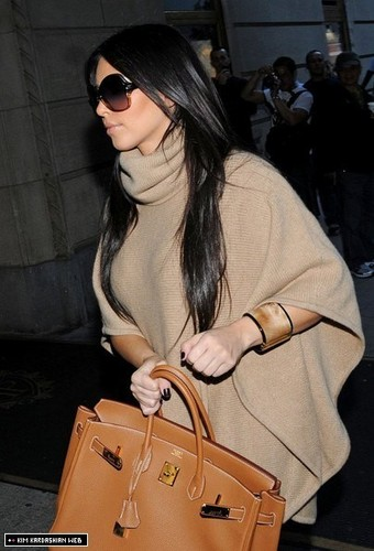The Kardashian sisters are photographed shopping out in New York 10/7/10
