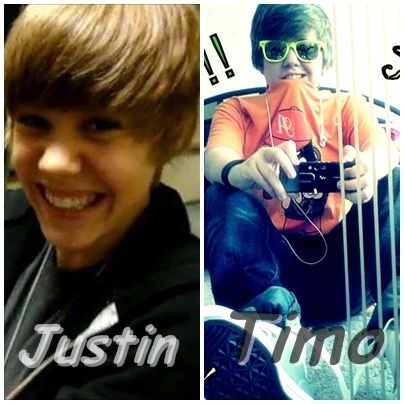 Timo and Justin (BiggestJbBoyFan!)