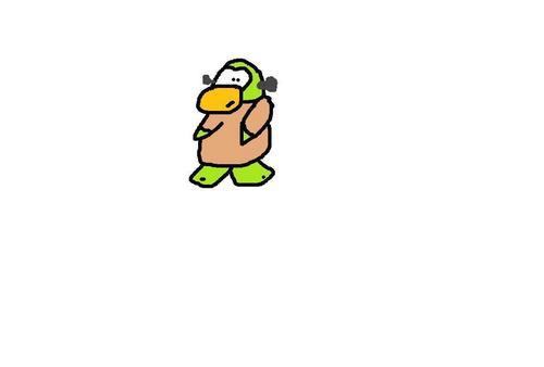 Troubled Monsters - Franken-Penguin