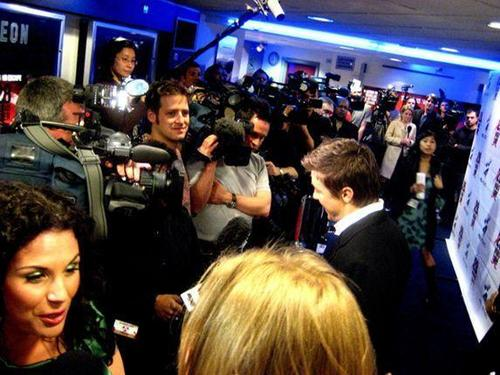 UK press tour for the movie 28 Weeks Later