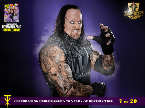 WWE wallpaper probably with anime entitled Undertaker