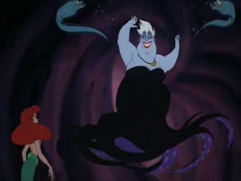 orang jahat disney wallpaper titled Ursula