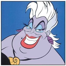 Disney Villains hình nền containing anime entitled Ursula