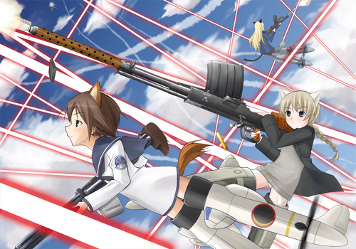 Strike Witches wallpaper titled Witches