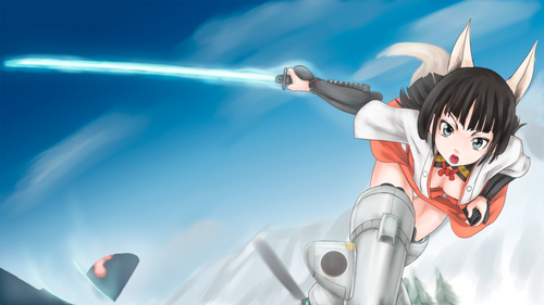 Strike Witches wallpaper called Witches