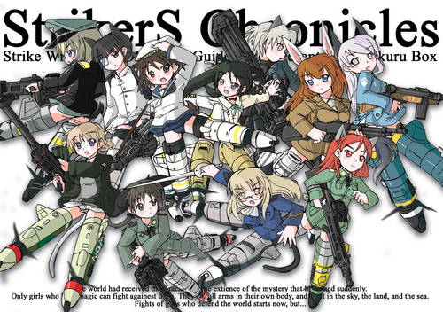 Strike Witches achtergrond containing anime called Witches