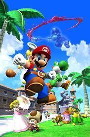 Super Mario Sunshine wolpeyper titled Yoshi