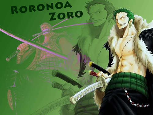 Roronoa Zoro wallpaper entitled Zoro