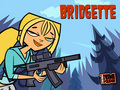 ahhh bridgette's got a gun - total-drama-island fan art