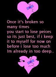 broken cœur, coeur