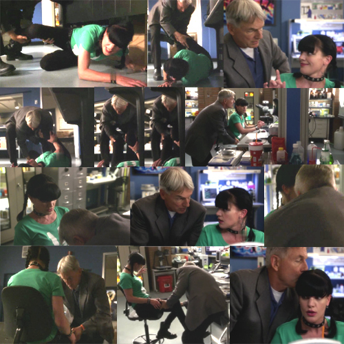 collage NCIS 8x04 gabby