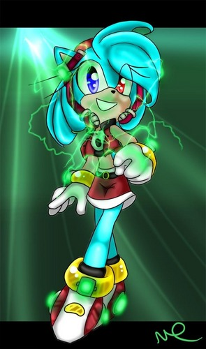 electric pop ster sonica-chan