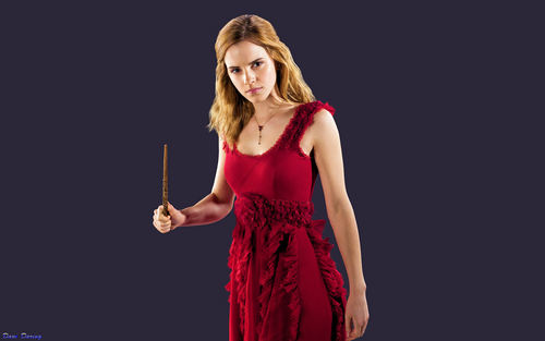 hermione granger/emma watson HP 7 wallpapers