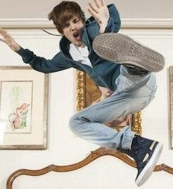 justin jump in letto