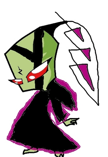 Invader Zim FanCharacters wallpaper titled ladria- irken disguise