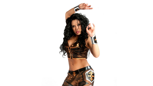 WWE Divas achtergrond possibly with a bikini called meLina