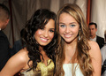 miley&amp; demi - disney-channel-girls photo