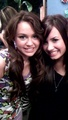 miley& demi - disney-channel-girls photo