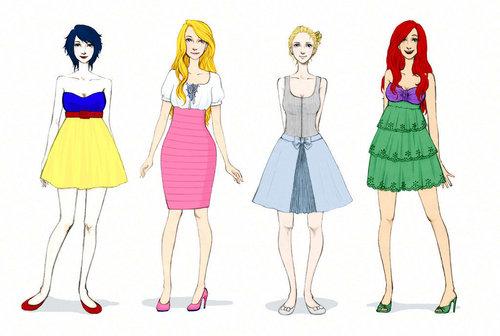 modern डिज़्नी fashion