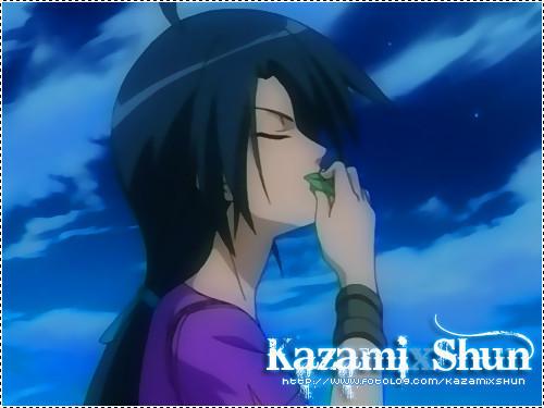 shun kazami's fan wallpaper probably with a portrait called shun