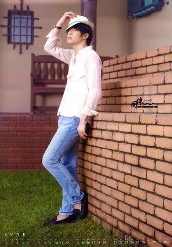 [Calenda 2010 June] *Yoochun*