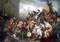 """Episode of the Belgian Revolution of 1830"" de Egide Charles Gustave Wappers (1835) - revolution fan art"