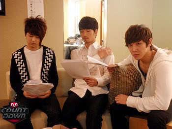 GO and Lee Joon with CNBlue's MinHyuk