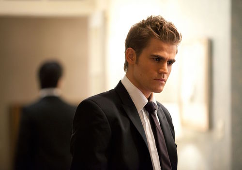 Damon and Stefan Salvatore پیپر وال containing a business suit and a suit titled 2x07 - Masquerade - Episode Stills