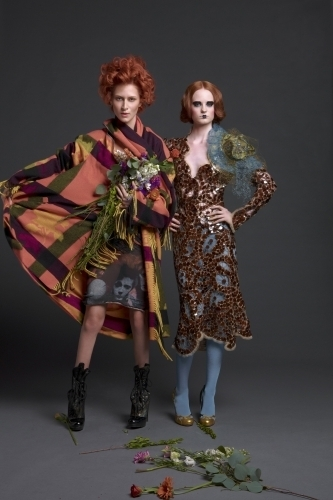 America's suivant haut, retour au début Model Cycle 15 Iconic Fashion Designers Photoshoot